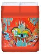 Alchemical Heart Duvet Cover