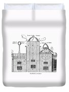 Alchemy: Tower Of Athanor Duvet Cover