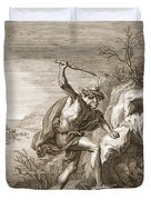 Alcyone And Ceux Transformed Duvet Cover