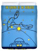Alder Planetarium Duvet Cover by Jennifer Rondinelli Reilly - Fine Art Photography