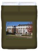 Alderman Library University Of Virginia Duvet Cover