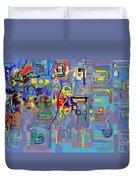 Alef Bais 1n Duvet Cover
