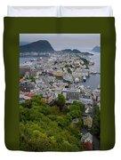 Alesund Norway Duvet Cover