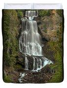 Alexander Falls - Whistler Bc Duvet Cover
