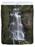 Alexander Falls - Whistler British Columbia Duvet Cover