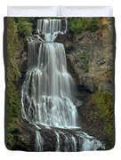 Alexander Falls Recreation Site - Whistler Bc Duvet Cover