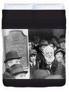 Alexander Graham Bell Duvet Cover