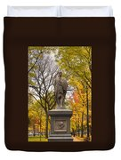 Alexander Hamilton Statue Duvet Cover