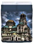 Alexander Nevski Cathedral Duvet Cover