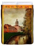 Alexander Nevsky Lavra Duvet Cover