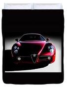 Alfa Romeo 8c Duvet Cover