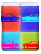 Alfa Romeo Gtv Pop Art 2 Duvet Cover