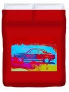 Alfa Romeo  Watercolor 1 Duvet Cover by Naxart Studio