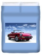 Alfa Spider Duvet Cover