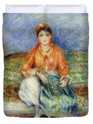 Algerian Girl Duvet Cover