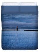 Algoma's Blue Hour Duvet Cover
