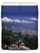 Alhambra View Duvet Cover