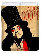 Alice Cooper 1 Duvet Cover