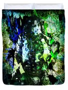 Alice Cooper - Feed My Frankenstein - Original Painting Print Duvet Cover