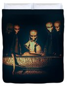 Alien Autopsy Alien Abduction Duvet Cover