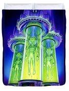 Alien Experiment Duvet Cover by Steve Read