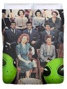 Alien Nostalgia Duvet Cover