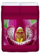 Alien Orchid Duvet Cover