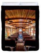 All Aboard Duvet Cover