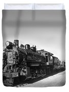 All Aboard Duvet Cover by Robert Bales