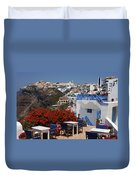 All About The Greek Lifestyle Duvet Cover