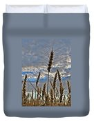 All About Wheat Duvet Cover