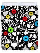 All Abut Music  Duvet Cover