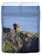 All Along The Watchtower - Bunglass Donegal Ireland Duvet Cover