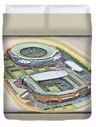 All England Lawn Tennis Club Duvet Cover