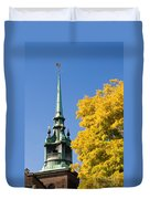 All Hallows By The Tower Duvet Cover
