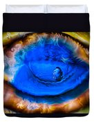 All Seeing Eye Duvet Cover by Omaste Witkowski