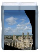 All Souls College And Beyond Duvet Cover