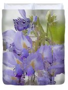 All The Flower Petals In This World 7 Duvet Cover