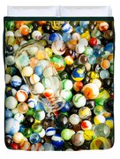 All The Marbles Duvet Cover by Edward Fielding