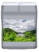Allegheny Reservoir Duvet Cover