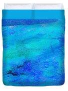 Allegory Blue Duvet Cover