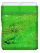 Allegory Emerald Green Duvet Cover