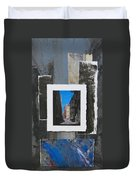 Alley 3rd Ward And Abstract Duvet Cover