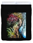 Alley By The Lake Duvet Cover