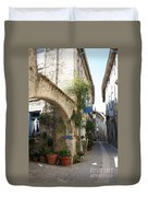 Alley In The Procence Duvet Cover