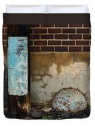 Alley Study Guard Img 5561 Duvet Cover