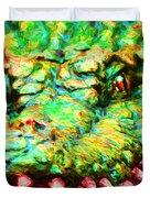 Alligator 20130702 Duvet Cover