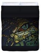 Alligator Eye Duvet Cover