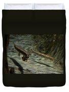 Alligator Gars Duvet Cover