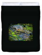 Alligator Mother's Day Duvet Cover
